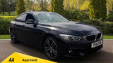BMW 4 SERIES 435D XDRIVE M SPORT GRAN COUPE COUPE, DIESEL, in BLACK, 2016 - image 0