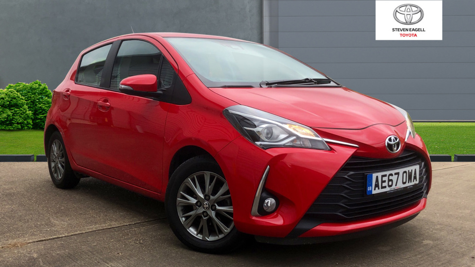 Toyota Yaris For Sale >> Used Toyota Yaris Vvt I Icon For Sale Toyota Toyota Cambridge