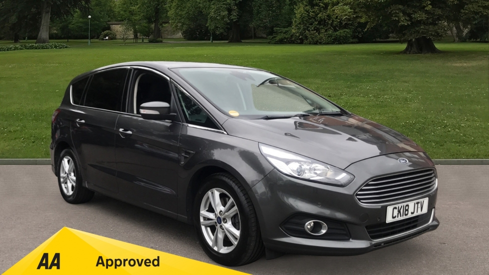 Ford S-MAX 2.0 TDCi 150 Titanium 5dr - Seven Seats, Satellite Navigation & Front/Rear Parking Sensors Diesel Estate (2018) image
