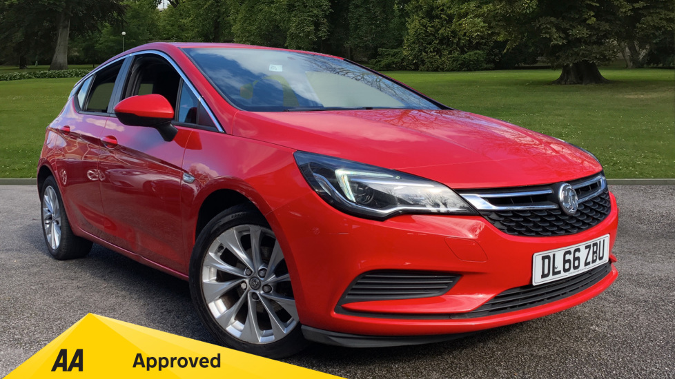 Vauxhall Astra 1.4T 16V 125 Design 5dr Hatchback (2016) available from Preston Motor Park Abarth, Alfa Romeo, Fiat, Jeep and Volvo thumbnail image