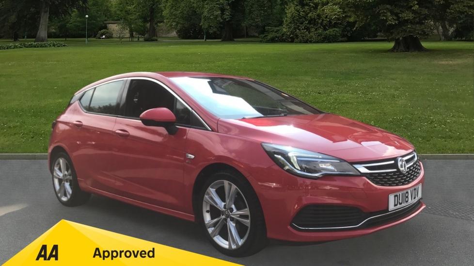 Vauxhall Astra 1.4T 16V 150 SRi Vx-line Nav 5dr - VXR Styling Pack, Satellite Navigation & Cruise Control Hatchback (2018)