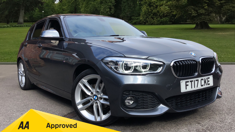 BMW 1 Series 118d M Sport 5dr [Nav] 2.0 Diesel Hatchback (2017)