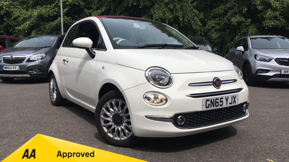 Fiat 500 1.2 Lounge 2dr Convertible (2015) image
