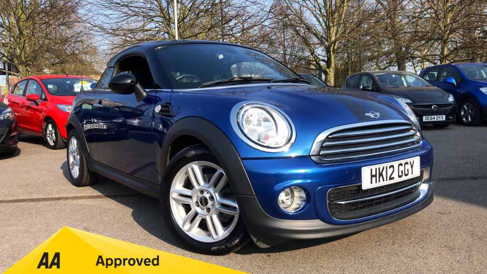 Mini Coupe 1.6 Cooper 3dr Coupe (2012) available from Preston Motor Park Fiat and Volvo thumbnail image