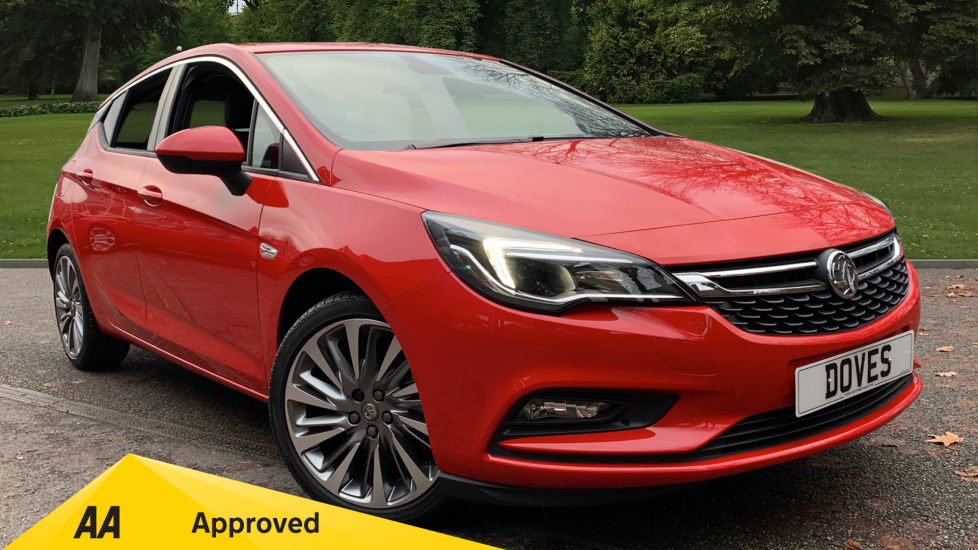 Vauxhall Astra 1.4T 16V 150 Griffin 5dr [Start Stop] Automatic Hatchback (2019)
