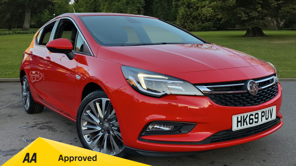 Vauxhall Astra 1.6 CDTi 16V 136 Griffin 5dr Diesel Hatchback (2019) at Doves Vauxhall Southampton thumbnail image