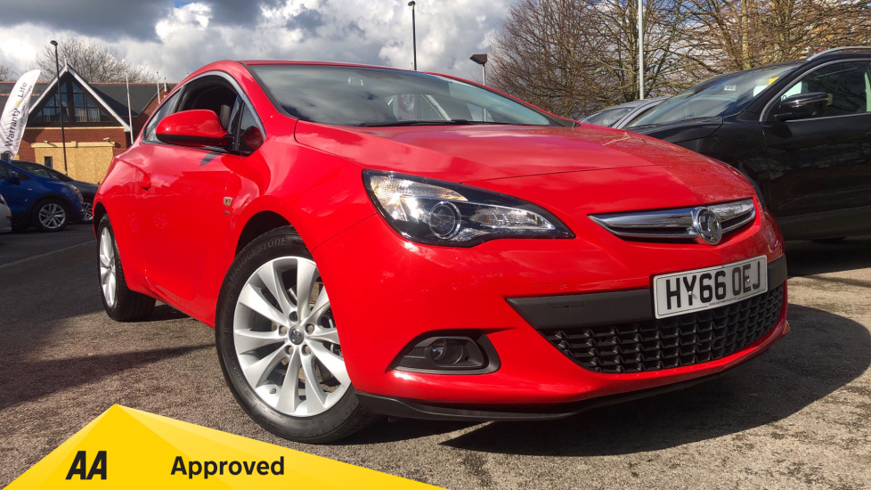 Vauxhall Astra GTC 1.4T 16V SRi 3dr Coupe (2016) available from Bolton Motor Park Abarth, Fiat and Mazda thumbnail image