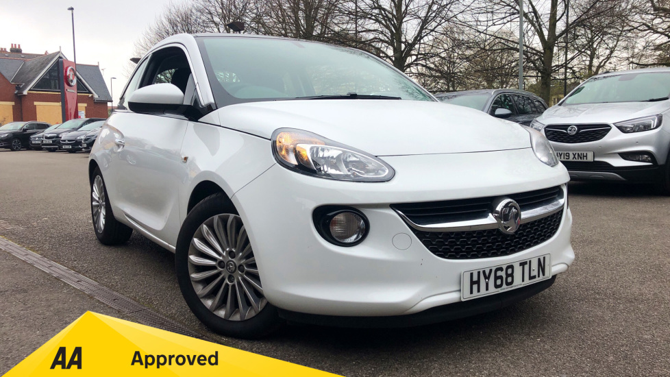 Vauxhall Adam 1.2i Glam 3dr Hatchback (2018) available from Bolton Motor Park Abarth, Fiat and Mazda thumbnail image