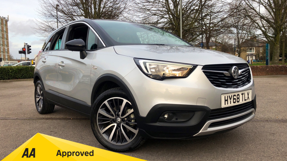 Vauxhall Crossland X 1.2T ecoTec [110] Elite Nav [6 Speed] [S/S] 5 door Hatchback (2018) available from Warrington Motors Fiat, Peugeot and Vauxhall thumbnail image