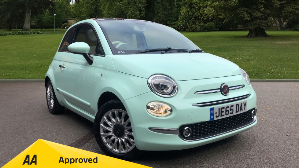 Fiat 500 1.2 Lounge 3dr Hatchback (2016)