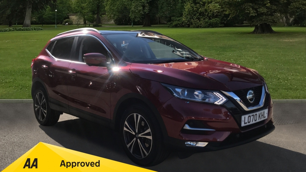 Nissan Qashqai 1.3 DiG-T 160 [157] N-Connecta DCT - Automatic, Glass Roof, Reverse Camera & Satellite Navigation 5 door Hatchback (2020) image