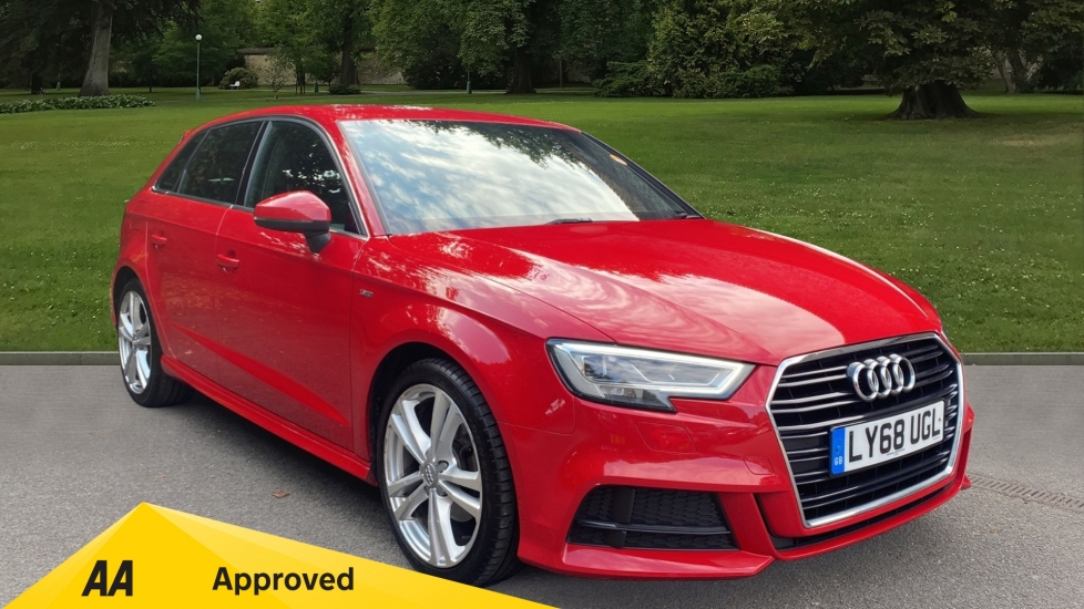 Audi A3 30 TFSI 116 S Line S Tronic - Automatic,SD Card Based MMI Navigation, & Audi Smartphone Interface image 1