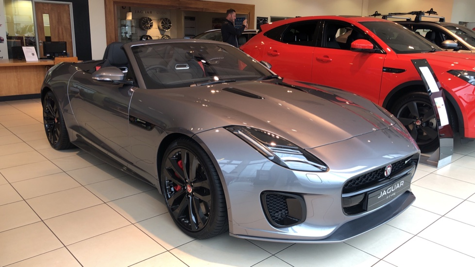 Jaguar F-TYPE 3.0 Supercharged V6 R-Dynamic Automatic 2 door Convertible (2020) at Jaguar Brentwood thumbnail image