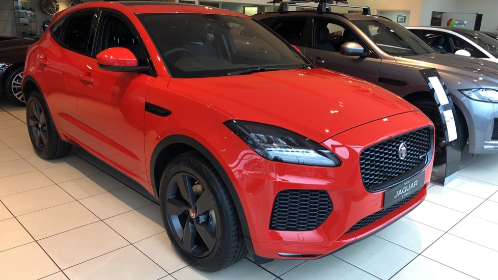 Jaguar E-PACE 2.0d Chequered Flag Edition SPECIAL EDITIONS Diesel Automatic 5 door Estate (2020)