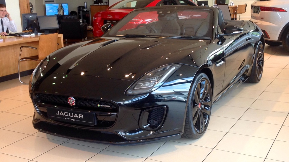 Jaguar F-TYPE 2.0 R-Dynamic Automatic 2 door Convertible (17MY)