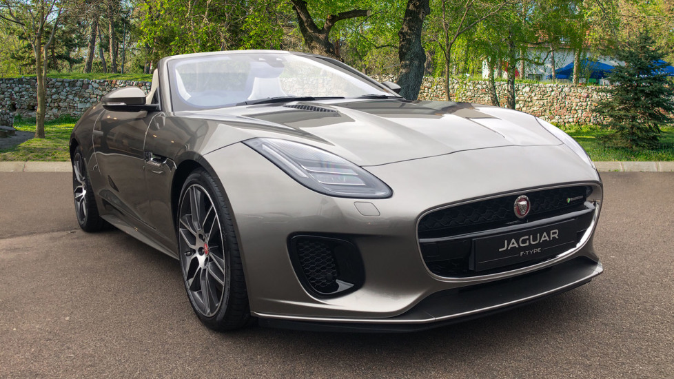 Jaguar F-TYPE 3.0 380 Supercharged V6 R-Dynamic Unregistered SAVE 12830 !!  Automatic 2 door Convertible (2020)