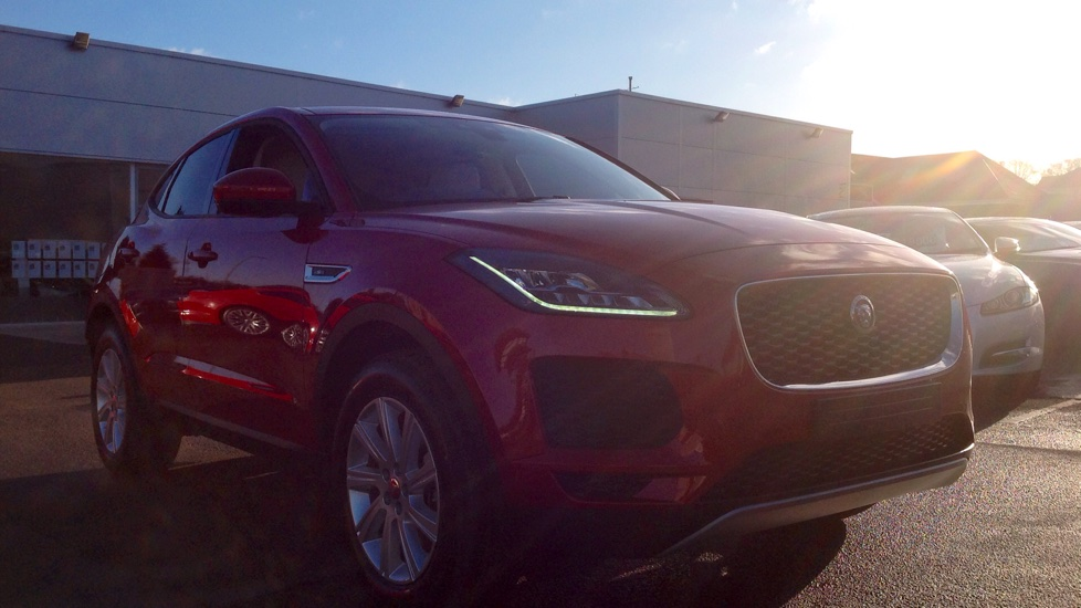 Jaguar E-PACE Stock cars available now for early delivery. Diesel 5 door Estate (2019) image