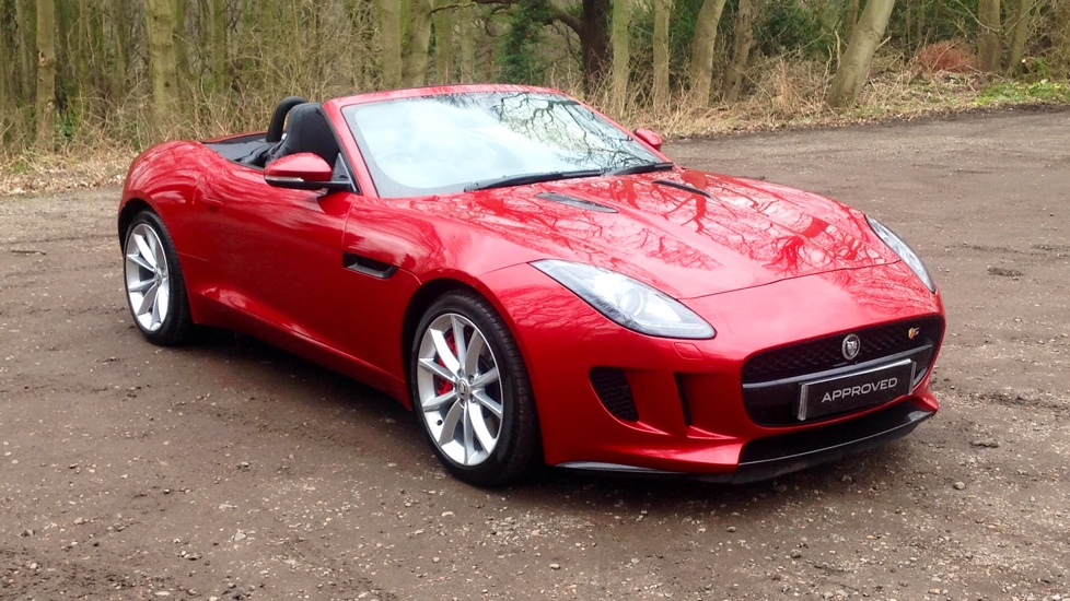 Jaguar F TYPE 3.0 Supercharged V6 S 2dr Automatic Convertible (2014) At  Jaguar Woodford