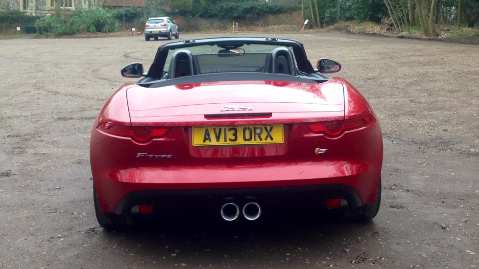 ... Jaguar F TYPE 3.0 Supercharged V6 S 2dr Image 5 Thumbnail ...