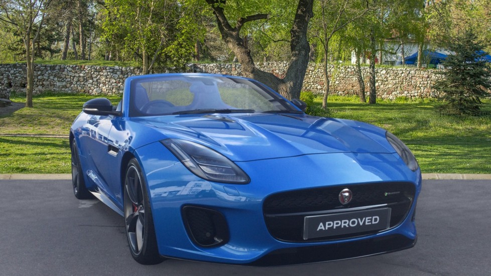 Jaguar F-TYPE 3.0 [380] Supercharged V6 R-Dynamic 2dr Very Low Miles Automatic Convertible
