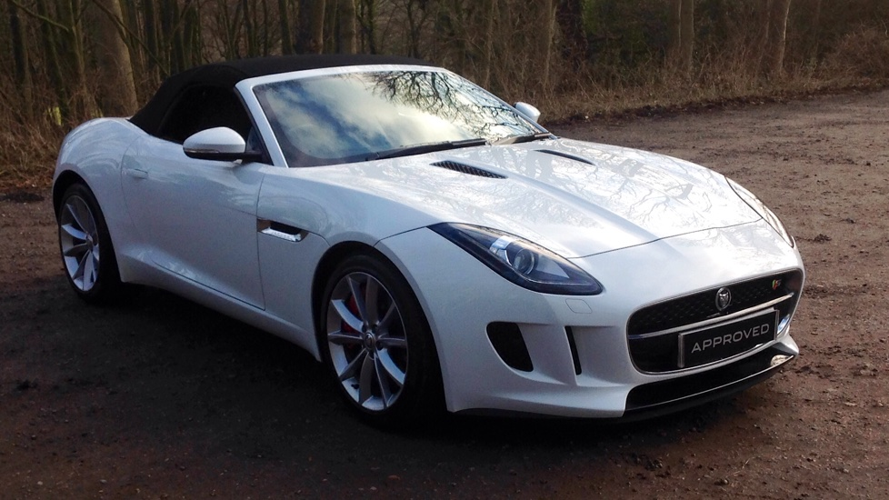 Jaguar F TYPE 3.0 Supercharged V6 S 2dr Automatic Convertible (2014)