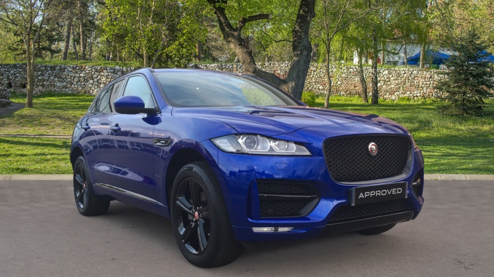 Jaguar F-PACE 2.0d [240] R-Sport 5dr AWD Panoramic Roof Black Pack  Diesel Automatic Estate (2018)