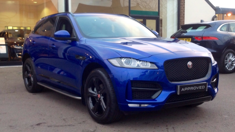 Jaguar F-PACE 2.0d [180] R-Sport AWD Black Edition Diesel Automatic 5 door Estate (2019) image