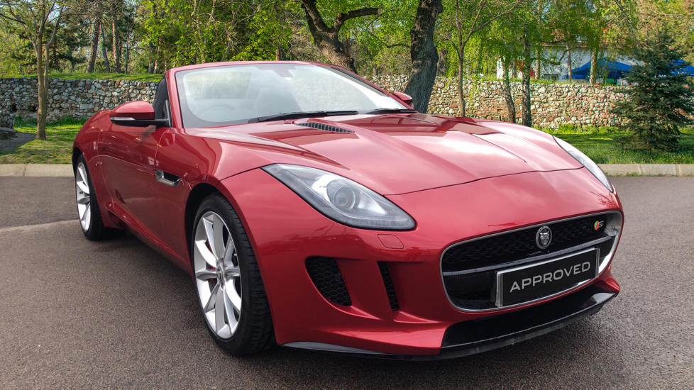 Jaguar F-TYPE 3.0 Supercharged V6 S 2dr Low Miles High Spec Automatic Convertible (2014) image