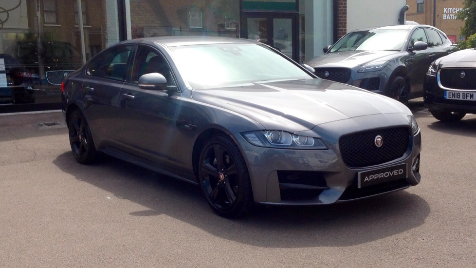Jaguar XF 2.0d [180] R-Sport Black Edition Diesel Automatic 4 door Saloon (2018)