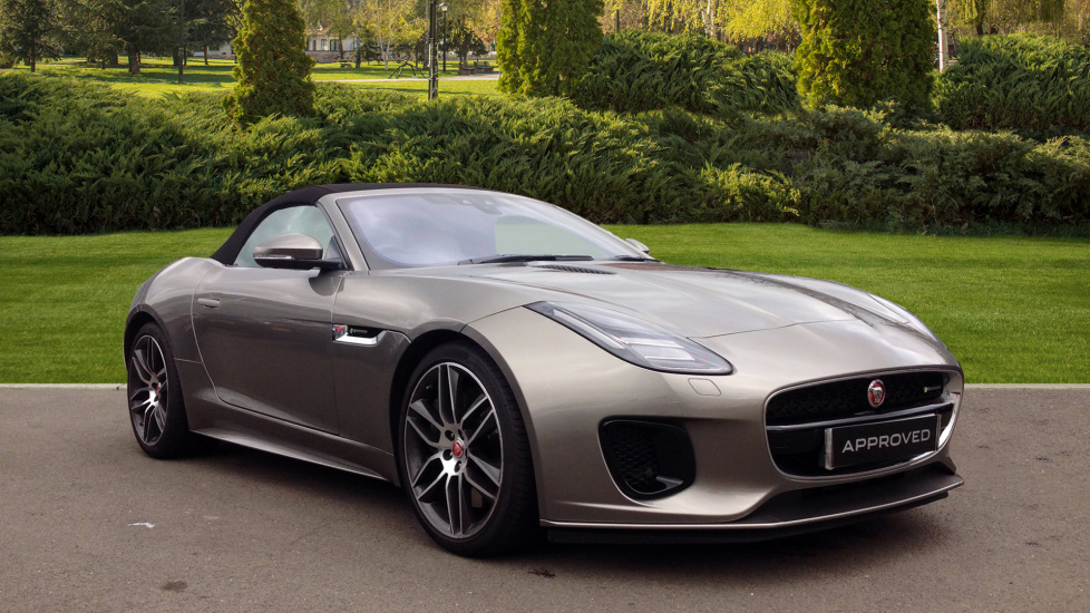 Jaguar F-TYPE 3.0 [380] Supercharged V6 R-Dynamic 2dr Automatic Convertible (2019)