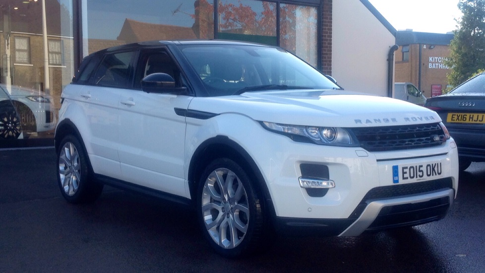 Land Rover Range Rover Evoque 2.2 SD4 Dynamic 5dr [9] [Lux Pack] Diesel Automatic Hatchback (2016) image