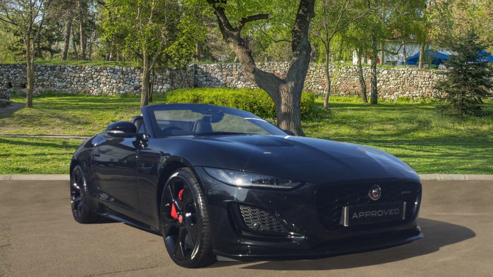 Jaguar F-TYPE 5.0 P450 Supercharged V8 R-Dynamic 2dr Automatic Convertible