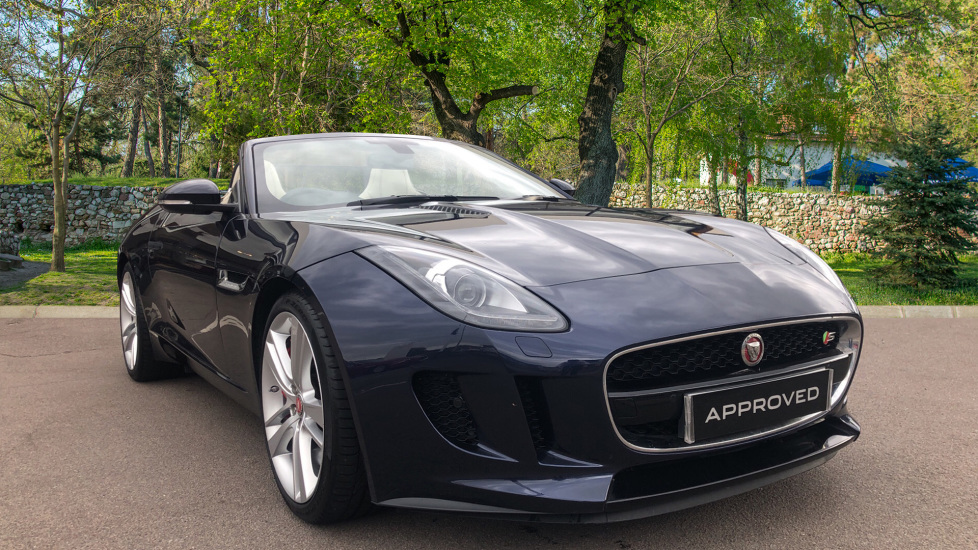 Jaguar F-TYPE 3.0 Supercharged V6 S 2dr Automatic Convertible (2017) image