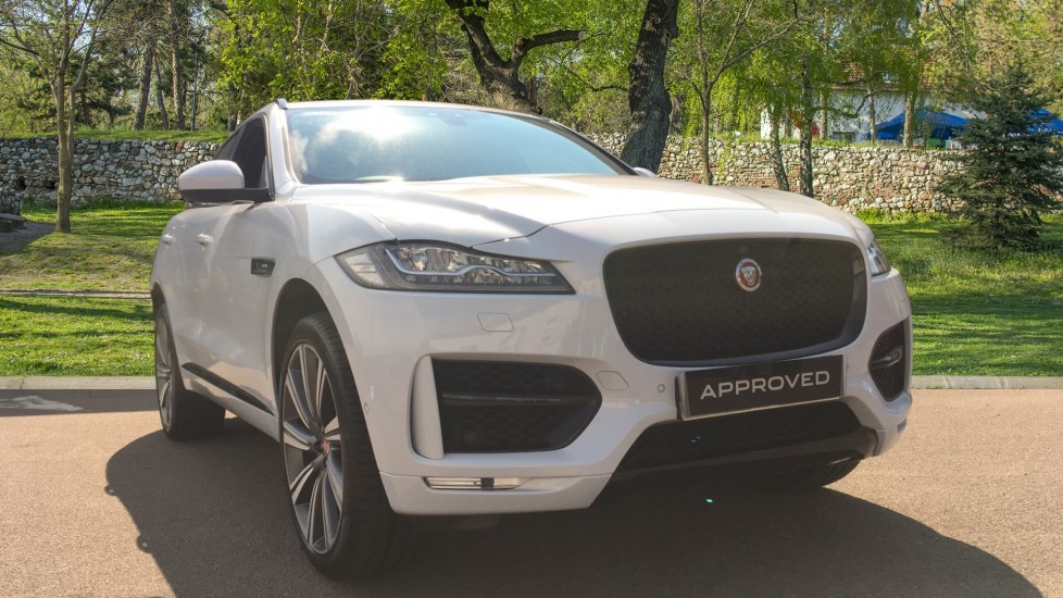 Jaguar F-PACE 2.0 R-Sport 5dr AWD High Spec with InControl Touch Pro, Panoramic Sunroof & 22 Inch Alloys Automatic Estate (2018)