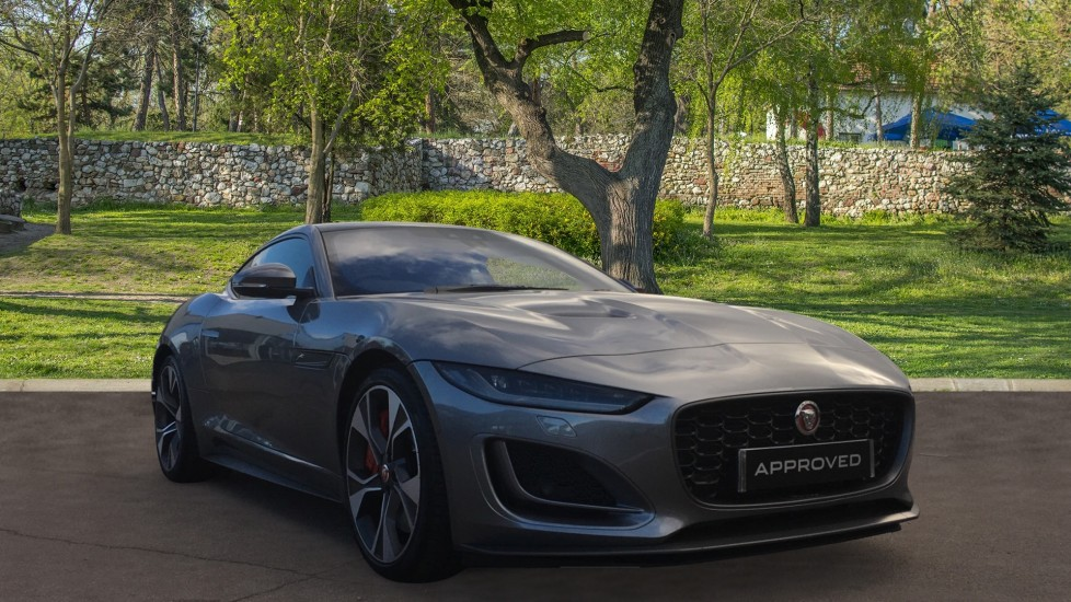 Jaguar F-TYPE 5.0 P450 S/C V8 First Edition 2dr AWD with Pan Roof Automatic 3 door Coupe (2021) image