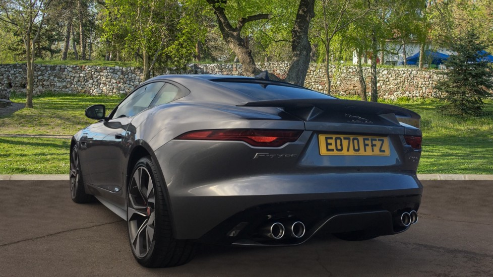 Jaguar F-TYPE 5.0 P450 S/C V8 First Edition 2dr AWD with Pan Roof image 2