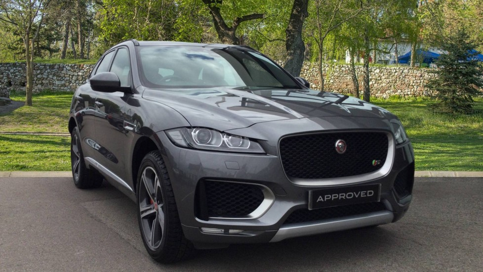 Jaguar F-PACE 3.0d V6 S 5dr AWD - Panoramic Sunroof - BSM Diesel Automatic Estate