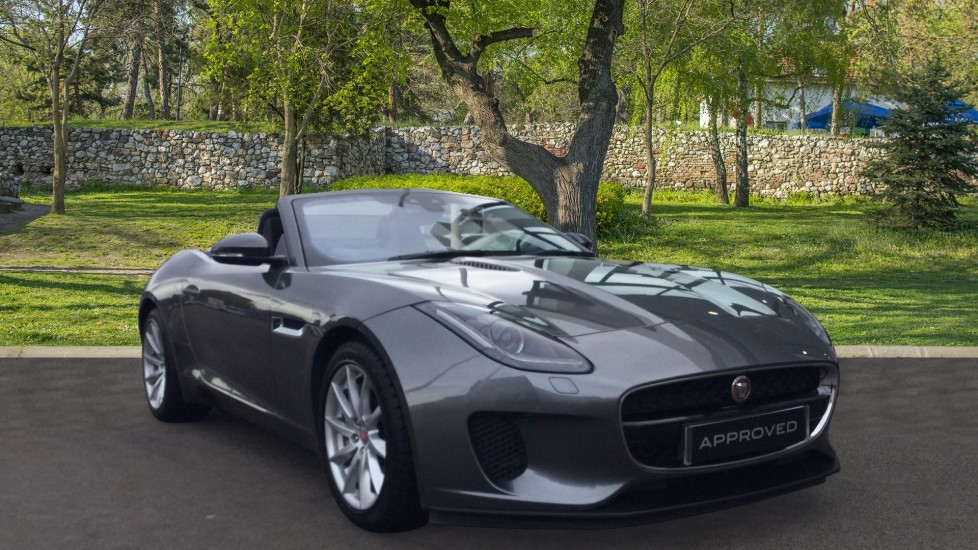 Jaguar F-TYPE 3.0 Supercharged V6 2dr Low Miles Automatic Convertible