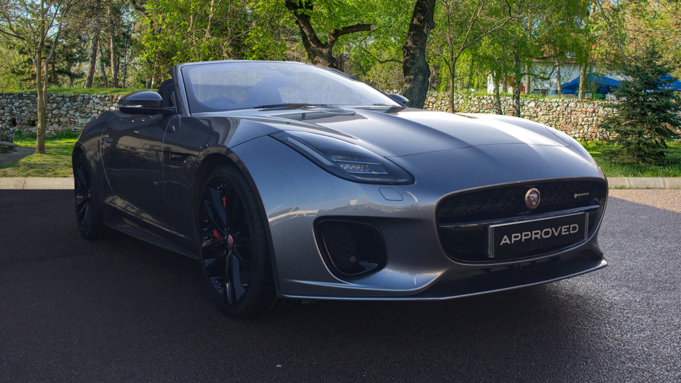 Jaguar F-TYPE 3.0 [380] Supercharged V6 R-Dynamic 2dr High Spec Demo Car Automatic Convertible (2020)