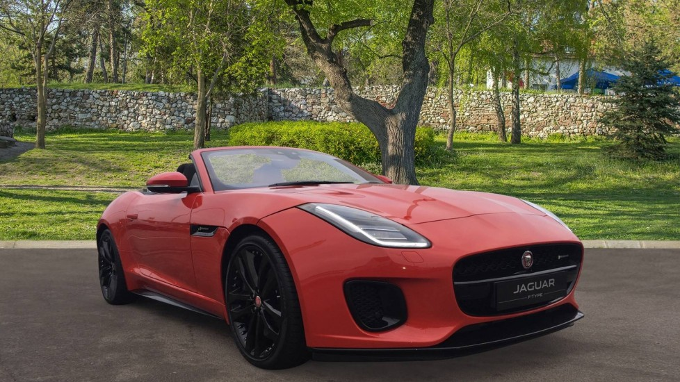 Jaguar F-TYPE 3.0 V6 S/C 380PS AWD AUTO R-DYNAMIC DELIVERY MILEAGE SAVE 22325 Automatic 2 door Convertible