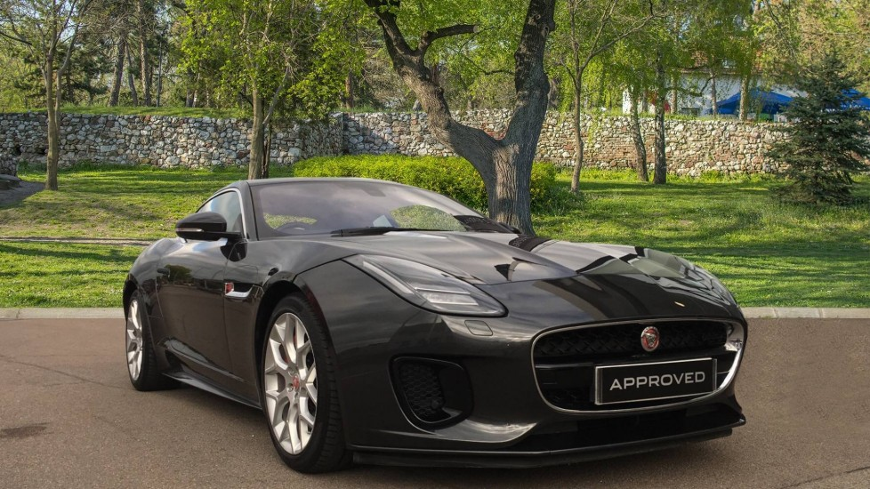 Jaguar F-TYPE 3.0 Supercharged V6 R-Dynamic 2dr Low Miles & Pan Roof Automatic 3 door Coupe (2018)