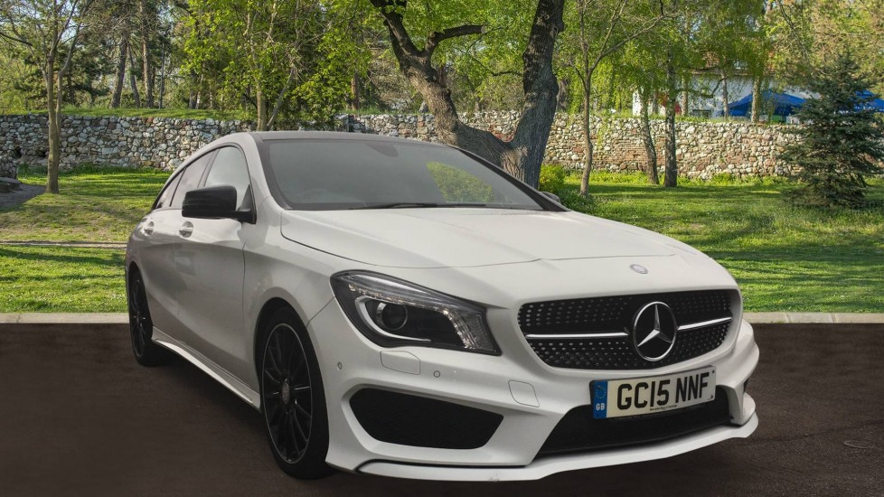 Mercedes-Benz CLA-Class CLA 180 AMG Sport 5dr Tip Night Package, Pan Roof. 1.6 Automatic 4 door Estate (2015)