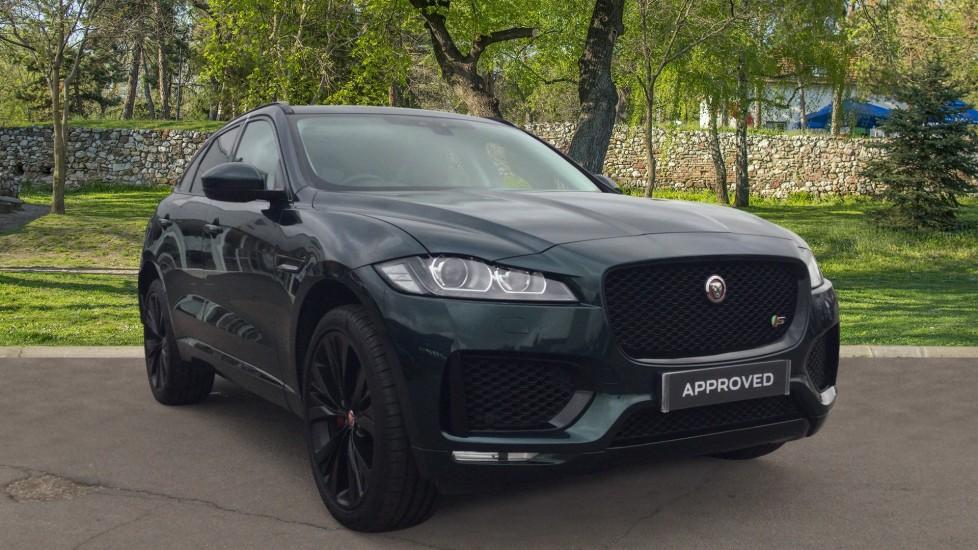 Jaguar F-PACE 3.0d V6 S AWD - 22 Inch Alloys - Sliding Pan Roof - Diesel Automatic 5 door Estate