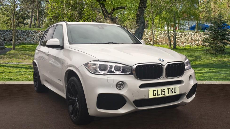 BMW X5 xDrive30d M Sport 5dr [7 Seat] Pan Roof 3.0 Diesel Automatic Estate (2015)