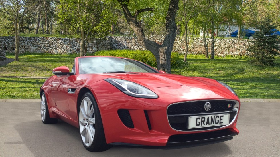 Jaguar F-TYPE 3.0 Supercharged V6 S 2dr Low Miles Automatic Convertible