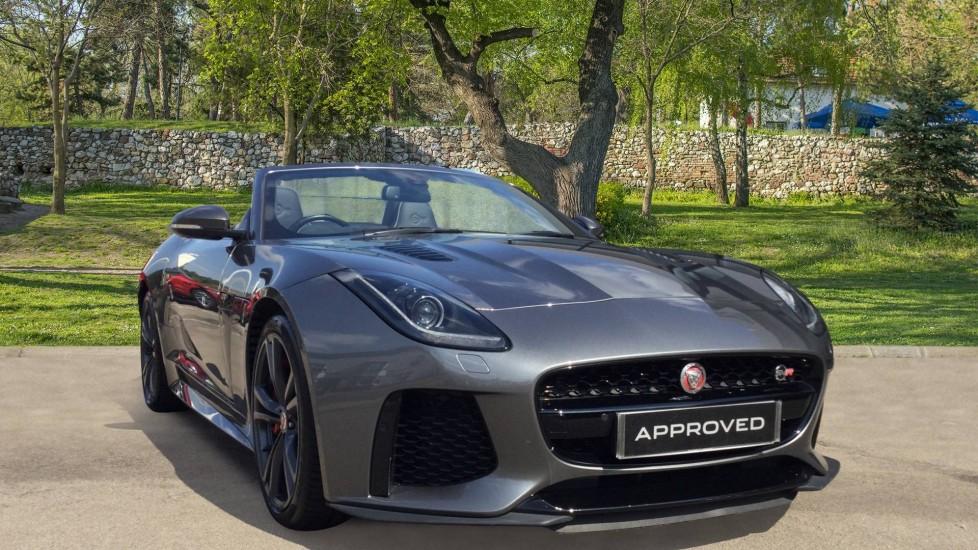 Jaguar F-TYPE 5.0 Supercharged V8 SVR 2dr AWD - Carbon Fibre - Automatic Convertible