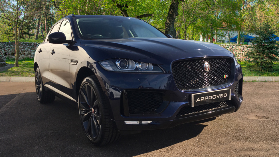 Jaguar F-PACE 3.0d V6 S 5dr AWD Sliding Pan Roof, 22 inch Alloys Diesel Automatic 4 door Estate (2018)