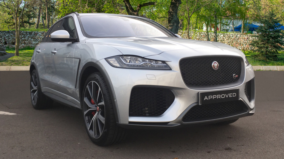 Jaguar F-PACE 5.0 Supercharged V8 SVR 5dr AWD - Panoramic Roof - Meridian Surround System - Head Up Display -  Automatic Estate (2019)