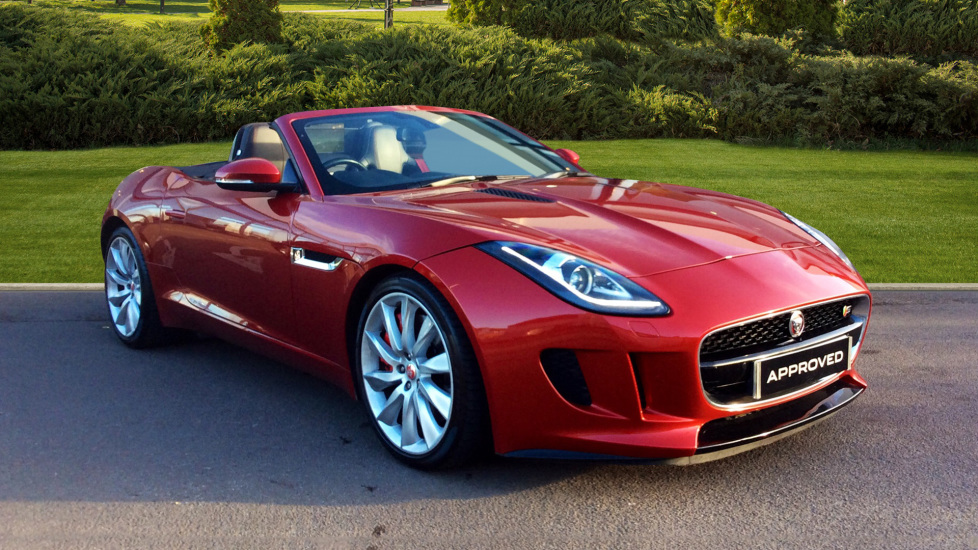 Jaguar F-TYPE 3.0 Supercharged V6 S 2dr Automatic Convertible (2015) image
