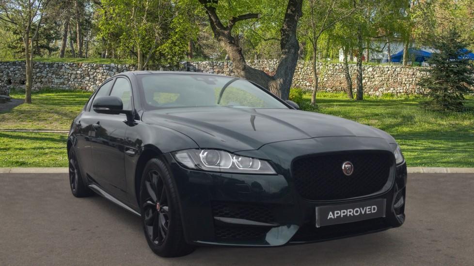Jaguar XF 2.0d [180] R-Sport - Meridian Sound - Split Rear Seats - Black Alloys and Ext Pack - Diesel Automatic 4 door Saloon
